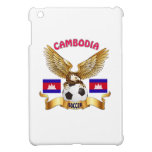 Diseños del fútbol de Combodia iPad Mini Protector