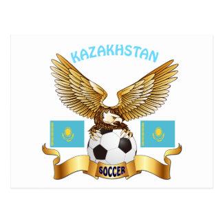 Diseños del fútbol de Kazajistán Postales