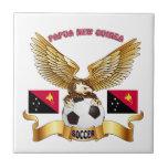 Diseños del fútbol de Papúa Nueva Guinea Azulejo Cerámica