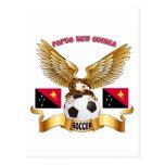 Diseños del fútbol de Papúa Nueva Guinea Postal