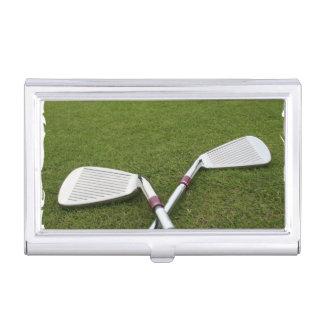 Diseños del golf cajas de tarjetas de negocios