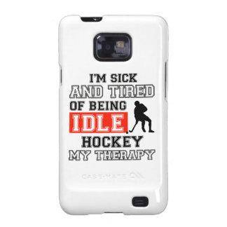 Diseños del hockey galaxy SII funda