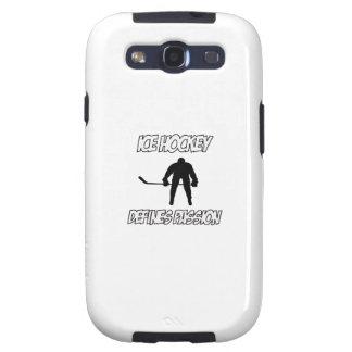 Diseños del HOCKEY SOBRE HIELO Galaxy S3 Fundas