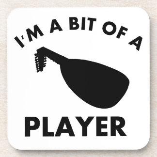 diseños del instrumento musical de la mandolina posavaso