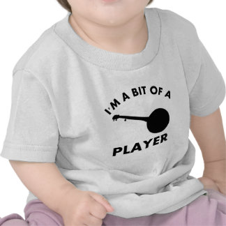 diseños del instrumento musical del banjo camisetas