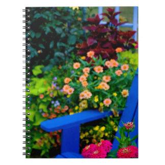 Diseños del jardín en nuestro jardín Sammamish, Libreta