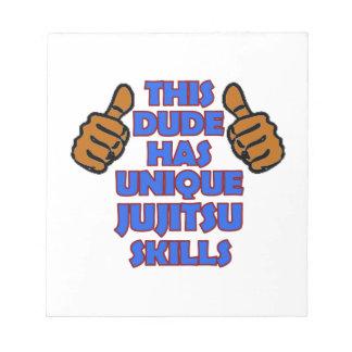 Diseños del JIU-JITSU Libretas Para Notas