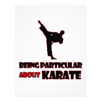 diseños del karate