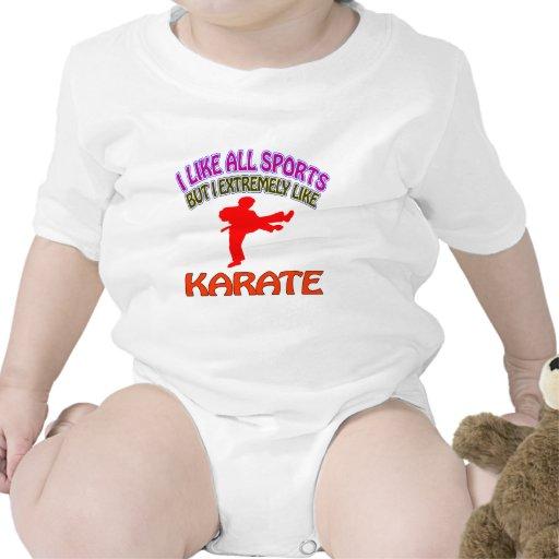 Diseños del karate traje de bebé