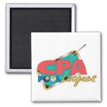 Diseños del logotipo de CPA Imanes De Nevera