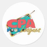 Diseños del logotipo de CPA Pegatina