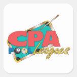Diseños del logotipo de CPA Pegatina Cuadrada