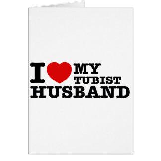 Diseños del marido de Tubist Tarjeta De Felicitación