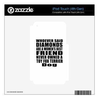 DISEÑOS DEL MEJOR AMIGO DEL PERRO DEL FOX TERRIER iPod TOUCH 4G SKINS