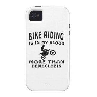 Diseños del montar a caballo de la bici iPhone 4/4S carcasa