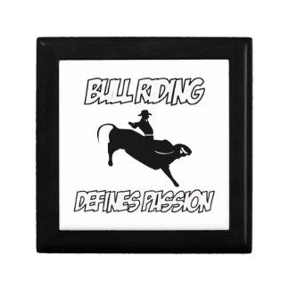 diseños del montar a caballo del toro cajas de joyas