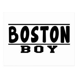 Diseños del muchacho de Boston Postal