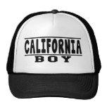 Diseños del muchacho de California Gorro De Camionero