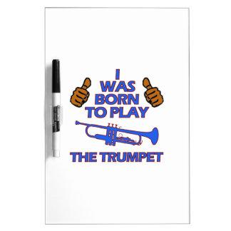 diseños del Musical de la trompeta Pizarras