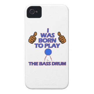 diseños del Musical del bombo iPhone 4 Funda