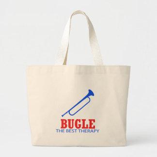 Diseños del Musical del bugle Bolsa Tela Grande