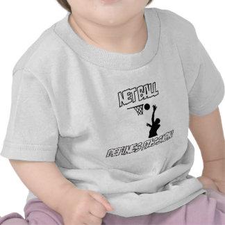 diseños del netball camisetas