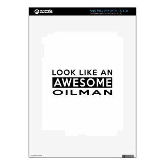 DISEÑOS DEL OILMAN iPad 3 SKINS