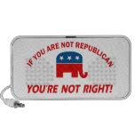 Diseños del Partido Republicano Mp3 Altavoces
