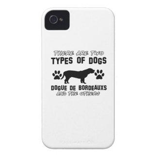 Diseños del perro de Dogue de Bordeaux iPhone 4 Case-Mate Cobertura