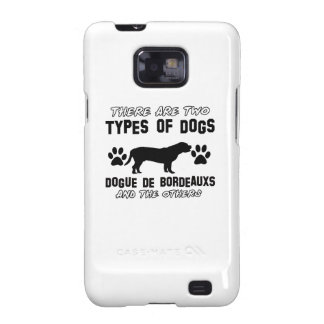 Diseños del perro de Dogue de Bordeaux Samsung Galaxy SII Carcasas