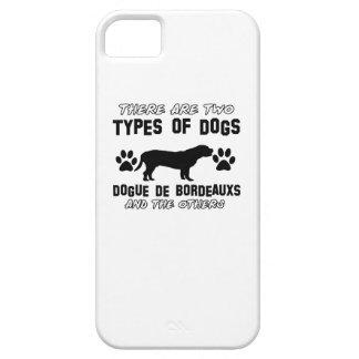 Diseños del perro de Dogue de Bordeaux iPhone 5 Case-Mate Protectores