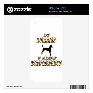 diseños del PERRO del corredor de cross Skins Para iPhone 4S