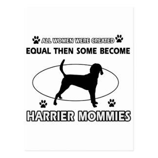 Diseños del perro del corredor de cross tarjetas postales