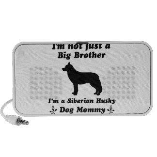 diseños del perro del husky siberiano mini altavoces