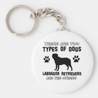 Diseños del perro del labrador retriever llavero redondo tipo pin