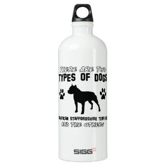 Diseños del perro del terrier de Staffordshire