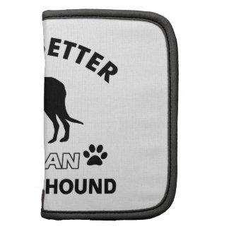 Diseños del perro del Wolfhound irlandés Organizador