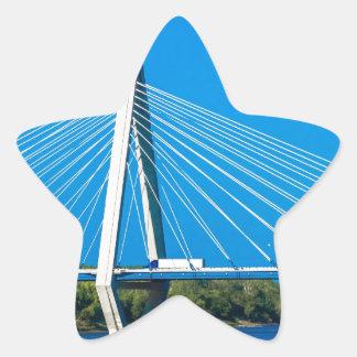 diseños del puente pegatina en forma de estrella