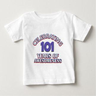 diseños del regalo de 101 años camisas