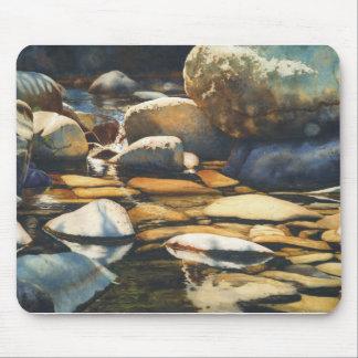 Diseños del río y de la fauna de Maria Rollins Tapete De Ratón