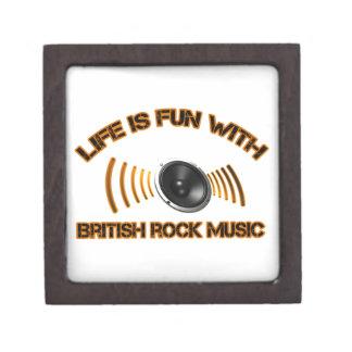 Diseños del rock británico