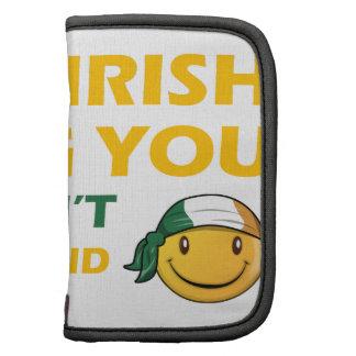 Diseños del smiley de Irlanda Planificador