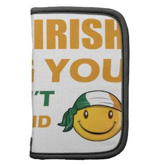 Diseños del smiley de Irlanda Organizador