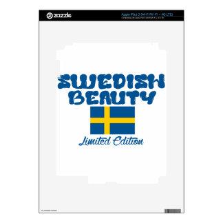 Diseños del sueco iPad 3 skins