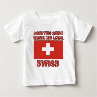 Diseños del suizo de Sool Playera De Bebé