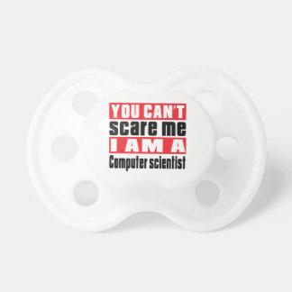 Diseños del susto del informático chupete de bebe