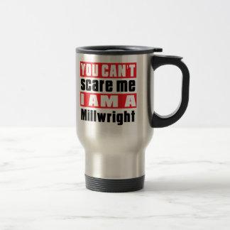 Diseños del susto del Millwright Taza De Viaje De Acero Inoxidable
