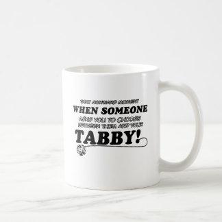 Diseños del Tabby para los amantes del gato Taza Clásica