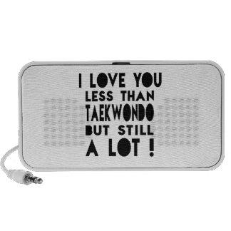 Diseños del Taekwondo Laptop Altavoces
