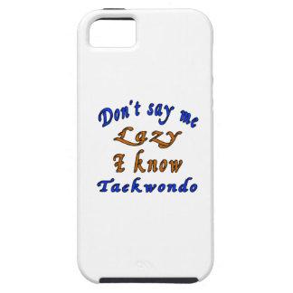 Diseños del Taekwondo iPhone 5 Carcasas